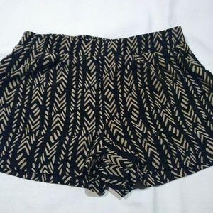 BCX silk shorts w/pockets.